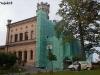 Feinstsandstrahlen Schloss vorher
