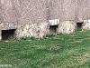 Feinstsandstrahlen Wand Vorher